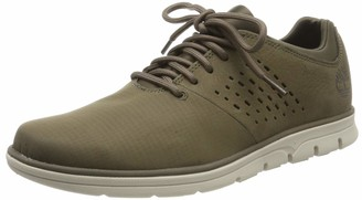Timberland Men's Bradstreet Fabric and Leather Oxfords