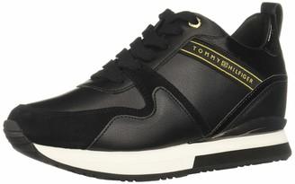 Tommy Hilfiger Women's Iridescent Wedge Sneaker Low-Top