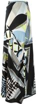 Antonio Berardi geometric print long skirt - women - Silk - 38