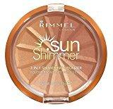 Rimmel 3 in 1 Shimmering Bronzer - Gold Princess 9.9g