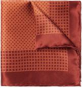 Canali - Printed Silk Pocket Square