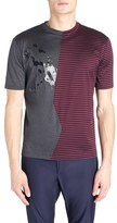 Lanvin Men's Pieced Graphic T-Shirt