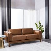 "west elm Dekalb Leather Sofa (85"")"