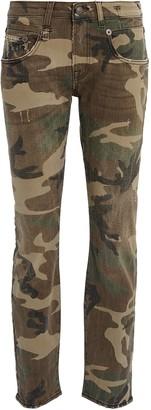 R 13 Boy Skinny Camouflage Jeans