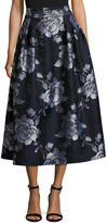 ABS by Allen Schwartz Women's Floral Printed A Line Skirt