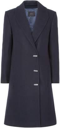 Dion Lee Wool-blend Felt Coat