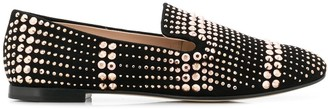 Giuseppe Zanotti flat studded loafers