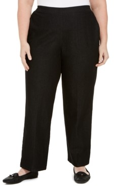 Alfred Dunner Plus Size Well Red Straight-Leg Pants