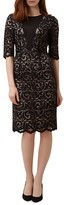 Hobbs London Rafaela Lace Overlay Dress