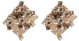 Lanvin Chain Lumiere crystal earrings