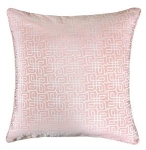 Homey Cozy Diana Jacquard Square Decorative Throw Pillow