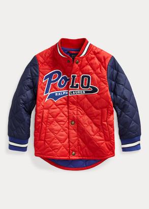 Ralph Lauren Logo Water-Resistant Jacket