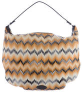 Missoni Chevron Knit Hobo