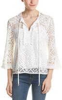 Nanette Lepore Delicate Lace Top