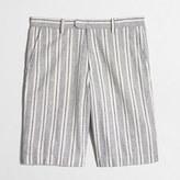 """J.Crew Factory 11"""" patterned linen-cotton Rivington short"""