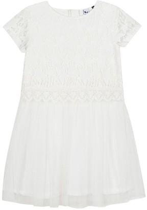 3 Pommes Kid Girl Broken White Dress