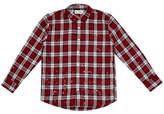 DL1961 Splattered Plaid Woven Shirt (Big Boys)