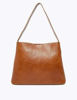 M&S CollectionMarks and Spencer Leather Trapeze Tote Bag