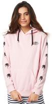 Billabong Long Beach Hooded Pink