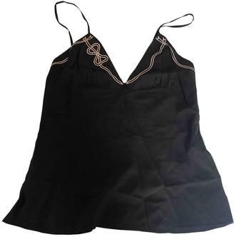 Agent Provocateur Black Silk Top for Women
