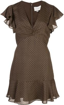 Alexis Benza polka-dot dress