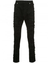 Balmain patch Jeans