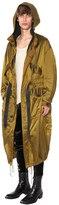 Haider Ackermann Hooded Oversized Nylon Parka Coat