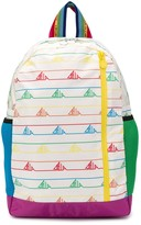 Stella McCartney logo-printed backpack