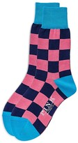 Thomas Pink Gingham Socks