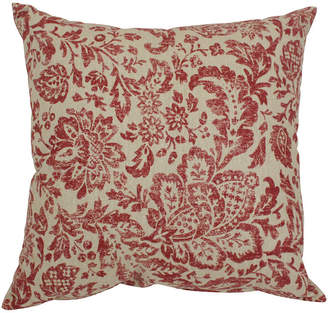 "Fairhaven Red 16.5"" Throw Pillow"