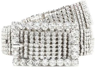 Alessandra Rich Crystal belt