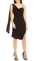 Keepsake Needed Me One-Shoulder Sash Dress