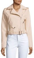 Design Lab Lord & Taylor Moto Jacket