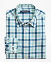 Brooks Brothers Cotton Multi Check Sport Shirt