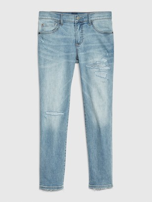 Gap Kids Destructed Slim Jeans with Stretch