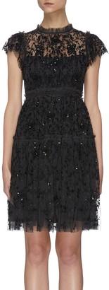 Needle & Thread 'Whitethorn' Short Sleeve Dress