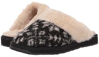 Minnetonka Holiday Scuff (Black Snowflake Berber) Women's Shoes