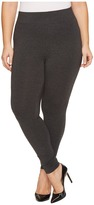 Hue Plus Size Ultra Leggings with Wide Waistband Women's Casual Pants