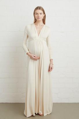 Maternity Long Sleeve Full Length Caftan