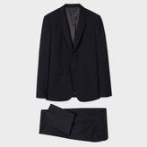 Paul Smith Men's Slim-Fit Navy Stretch-Wool Suit