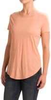 For the Republic Cut and Sew Pima Cotton Shirt - Scoop Neck, Short Sleeve (For Women)