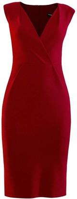 L'momo Pencil Dress With Shoulder Tucks