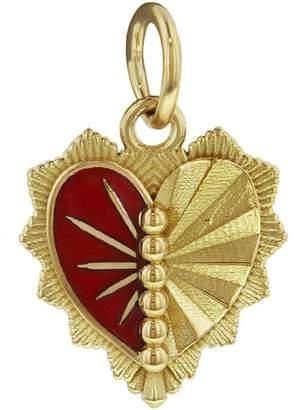 Foundrae Left Miniature Heart Love Token Medallion