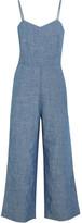J.Crew Roadrunner cotton-chambray jumpsuit