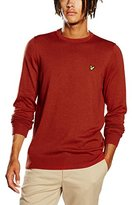 Lyle & Scott Men's Crew Neck Merino Jumper,X-Large