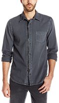 Hudson Men's Asher Zip Front Shirt