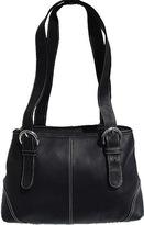 Piel Women's Leather Medium Buckle Handbag 2599