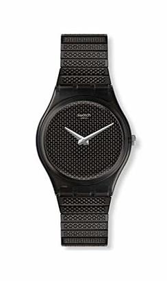 Swatch Women's Quartz Watch with Stainless Steel Strap