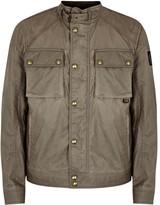 Belstaff Racemaster Stone Coated Cotton Jacket