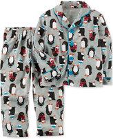 Carter's 2-Pc. Penguin-Print Pajama Set, Little Boys (4-7) & Big Boys (8-20)